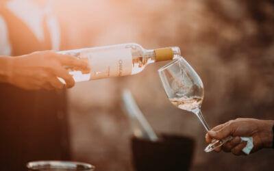 Weinlieferung auf Bestellung
