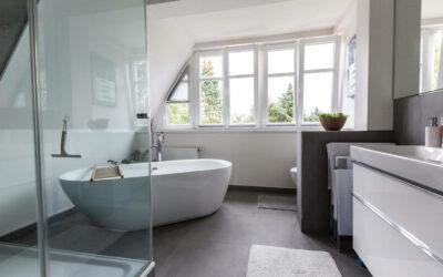 Badezimmer Modern Style – Terratinta Betontech Grey matt