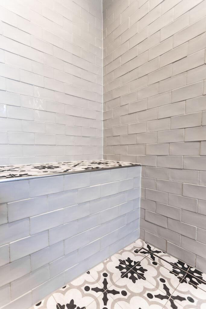 Badezimmer black & white