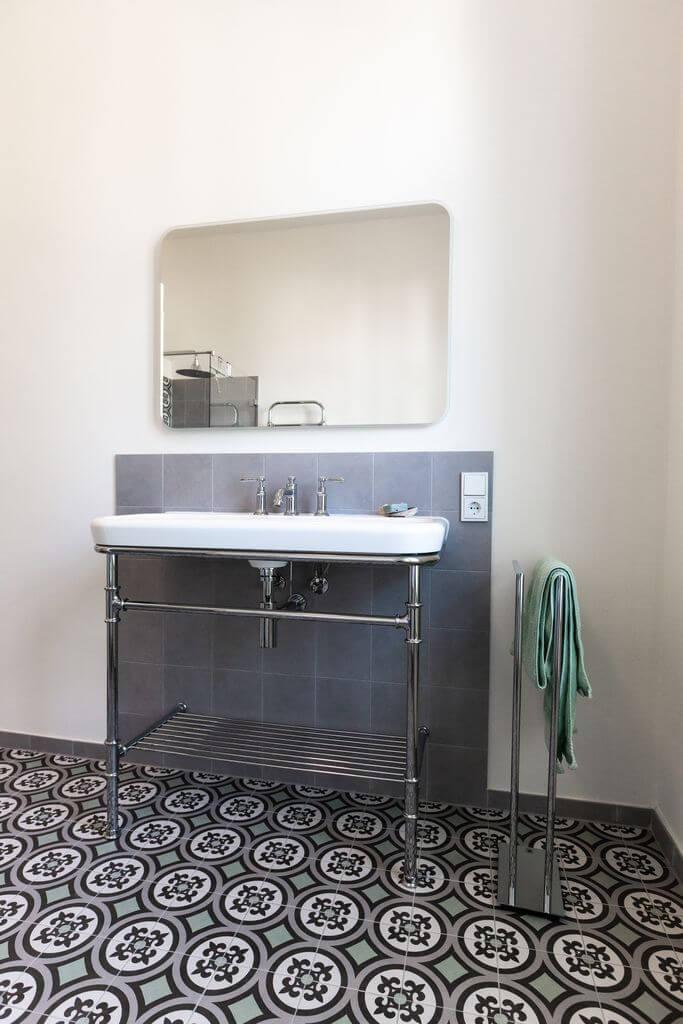 Badezimmer mint-grey